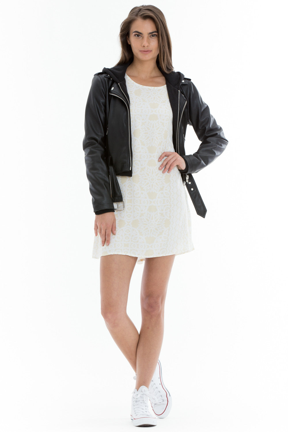 OBEY - One Love Women's Jacket, Black - The Giant Peach - 1