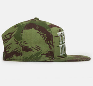 10Deep - 10th DVSN Snapback Cap, Swipes Camo - The Giant Peach