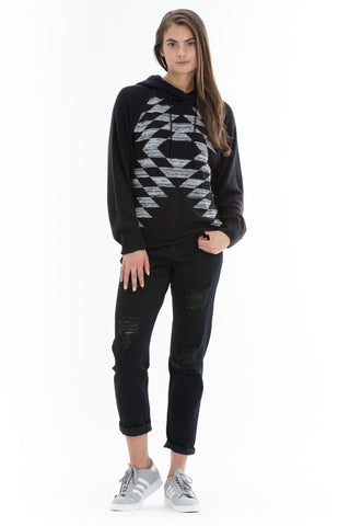 OBEY - Mars Women's Pullover, Black