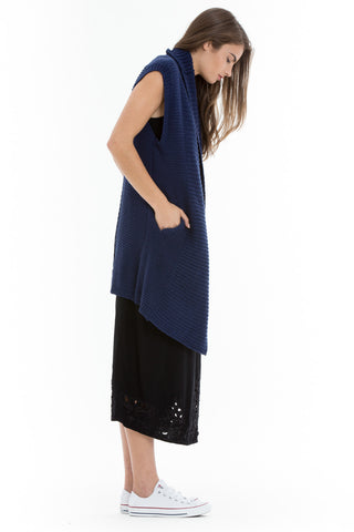OBEY - Leila Women's Wrap, Navy