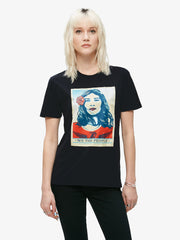 OBEY - Defend Dignity Women's Shirt, Black - The Giant Peach