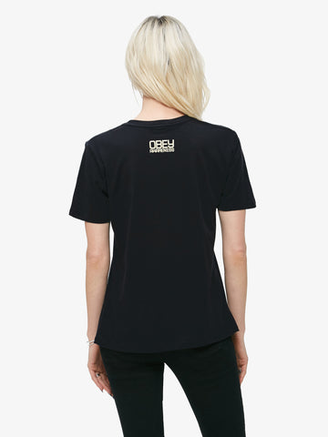 OBEY - Defend Dignity Women's Shirt, Black