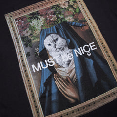 RIPNDIP - Mother Men's Tee, Black - The Giant Peach