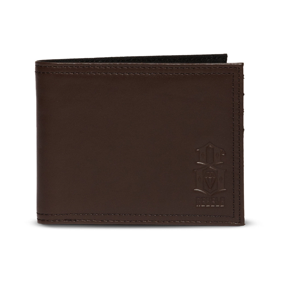 REBEL8 - Standard Issue Leather Wallet, Brown - The Giant Peach - 1