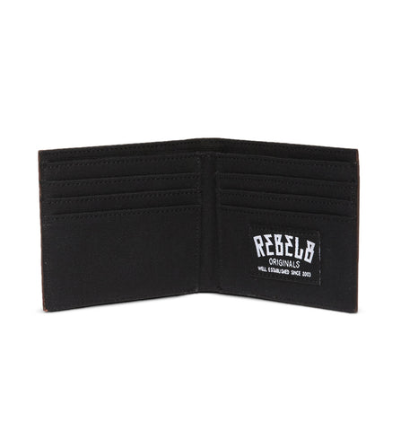 REBEL8 - Standard Issue Leather Wallet, Brown