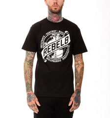 REBEL8 - Sights Set Men's Tee, Black - The Giant Peach - 1