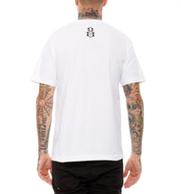 REBEL8 - White Flag Men's Tee, White - The Giant Peach