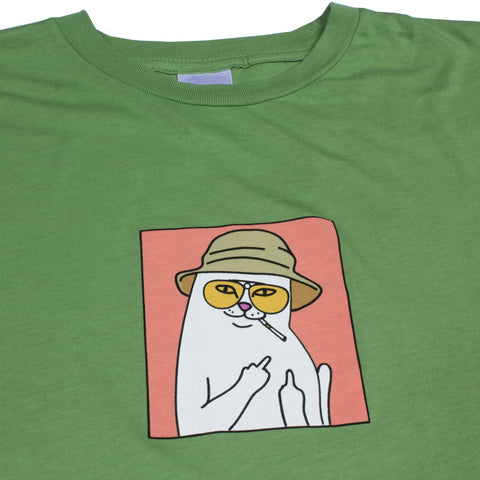 RIPNDIP - Nermal S. Thompson Men's Tee, Olive