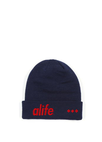Alife - 3D Alife Beanie, Eclipse Blue - The Giant Peach