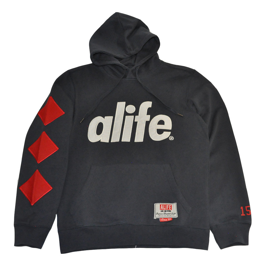 Alife - 3D Alife Men's Hoodie, Eclipse Blue - The Giant Peach