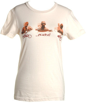 3 Melancholy Gypsys - 3MG Women's Shirt, Cream - The Giant Peach