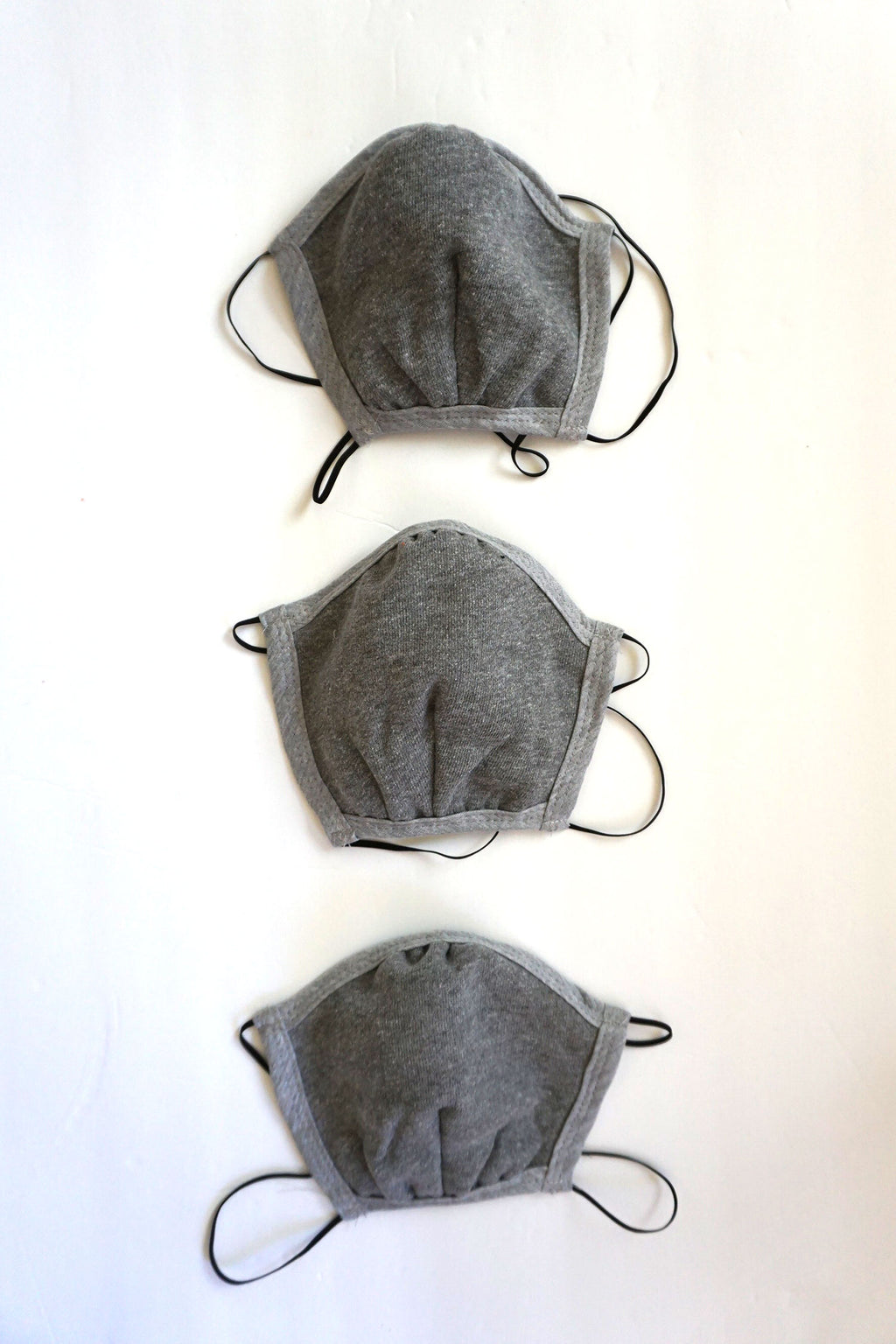3 pack of grey masks