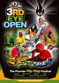 3rd Eye Open - 5th Annual HipHop Festival, DVD