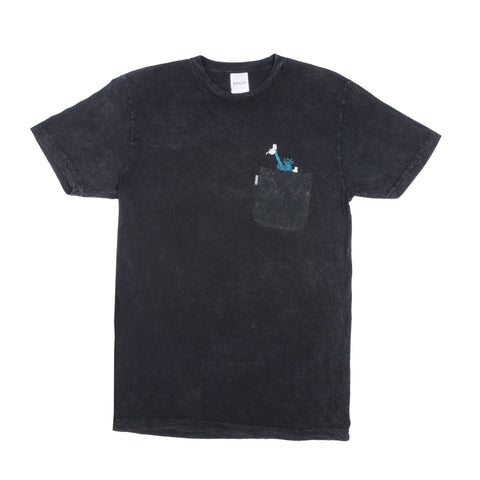 RIPNDIP - Liberty Men's Tee, Black Mineral Wash