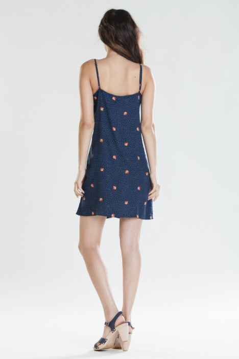OBEY - Alanis Women's Dress, Navy - The Giant Peach - 2