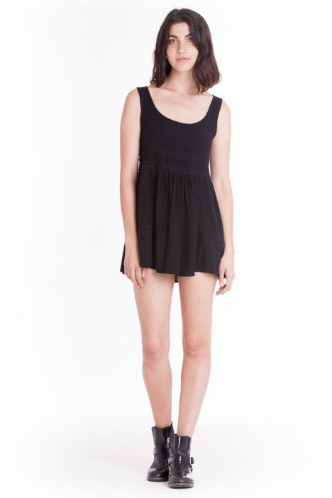 OBEY - Harrison Dress, Black - The Giant Peach - 1