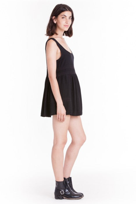 OBEY - Harrison Dress, Black - The Giant Peach - 4