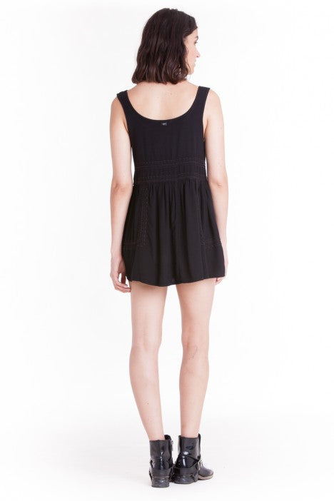 OBEY - Harrison Dress, Black - The Giant Peach - 3