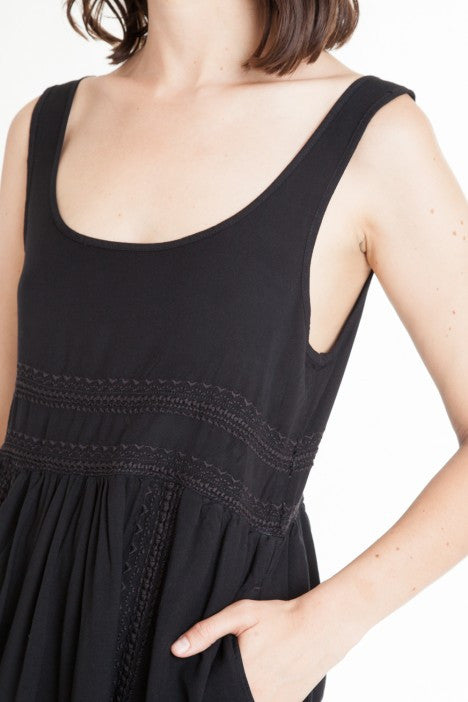 OBEY - Harrison Dress, Black - The Giant Peach