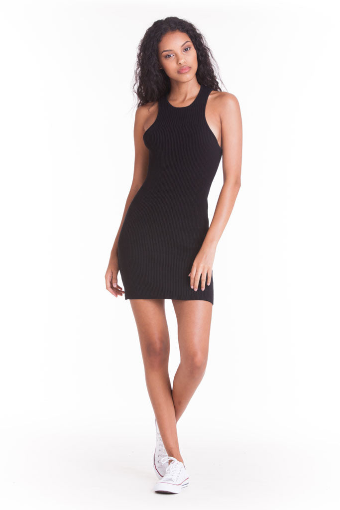 OBEY - Seymour Dress, Black - The Giant Peach - 1