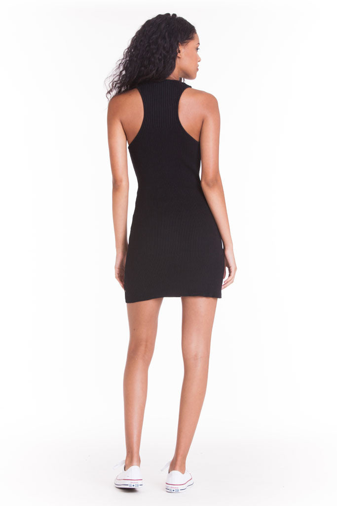 OBEY - Seymour Dress, Black - The Giant Peach - 2