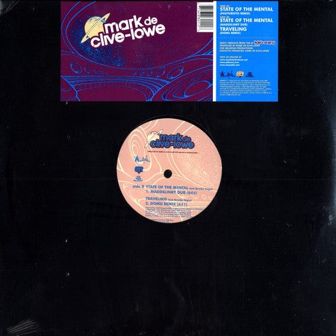 "Mark de Clive-Lowe - State Of The Mental B/W Travelin Remixes, 12"" Vinyl - The Giant Peach"