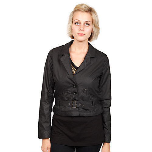 OBEY - Sly Fox Women's Jacket, Black - The Giant Peach
