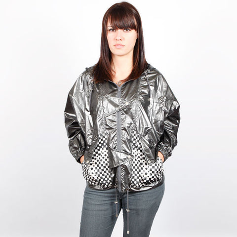 HELLZ BELLZ! - Rock It Hooded Women's Jacket, Pewter
