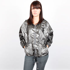 HELLZ BELLZ! - Rock It Hooded Women's Jacket, Pewter - The Giant Peach