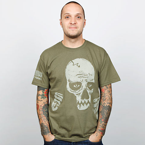 Sage Francis - Sick Of Wasting Men's Shirt, Army