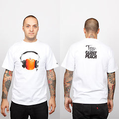 The Giant Peach x TRUE  Men's Shirt, White - The Giant Peach