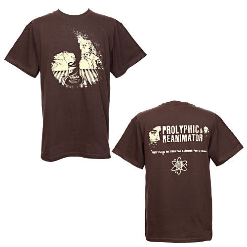 Prolyphic & Reanimator - Ugly Truth Men's Shirt, Brown - The Giant Peach