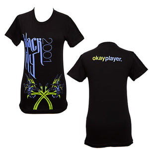 okayplayer - Black Lily Women's Shirt, Black - The Giant Peach