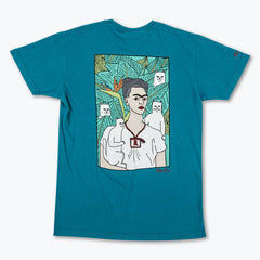RIPNDIP - Nermal Portrait Men's Tee, Deep Sea Green