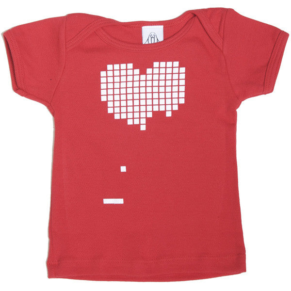 Upper Playground - Dora Drimalas Pong Infant & Toddler Tee, Red - The Giant Peach