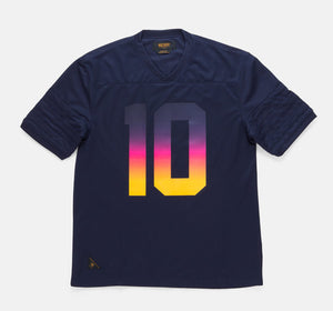 10Deep - Burnout Men's Jersey, Navy - The Giant Peach