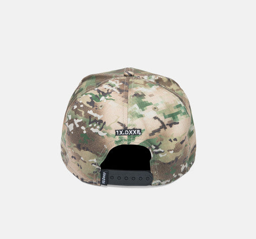 10Deep - Larger Living Snapback Hat, Digi Camo - The Giant Peach - 3