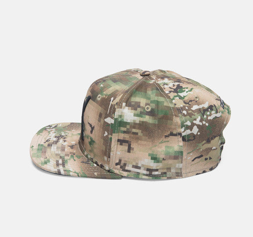 10Deep - Larger Living Snapback Hat, Digi Camo - The Giant Peach - 2