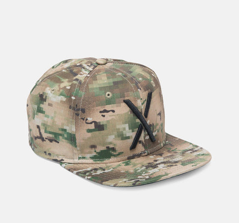 10Deep - Larger Living Snapback Hat, Digi Camo - The Giant Peach - 1