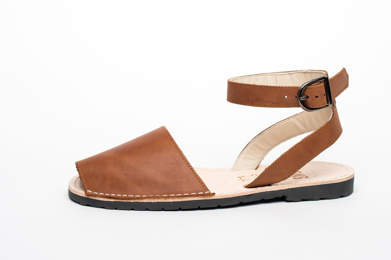 Pons Avarcas - Classic Style Strap Sandal - The Giant Peach - 4