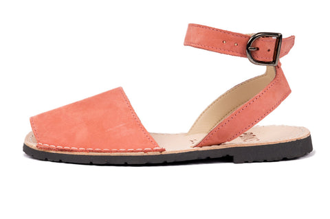 Pons Avarcas - Classic Style Strap Sandal - The Giant Peach