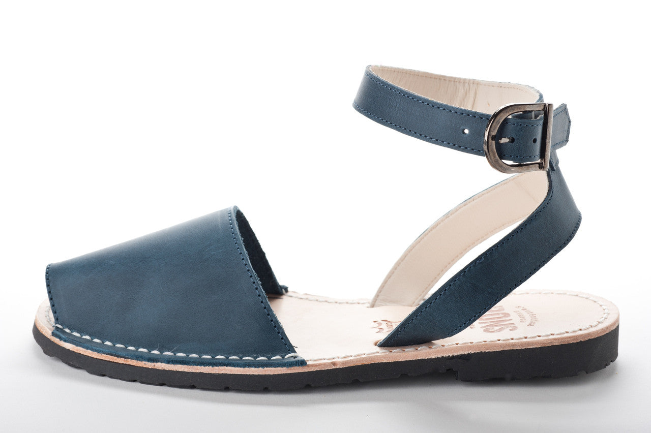 Pons Avarcas - Classic Style Strap Sandal - The Giant Peach - 6