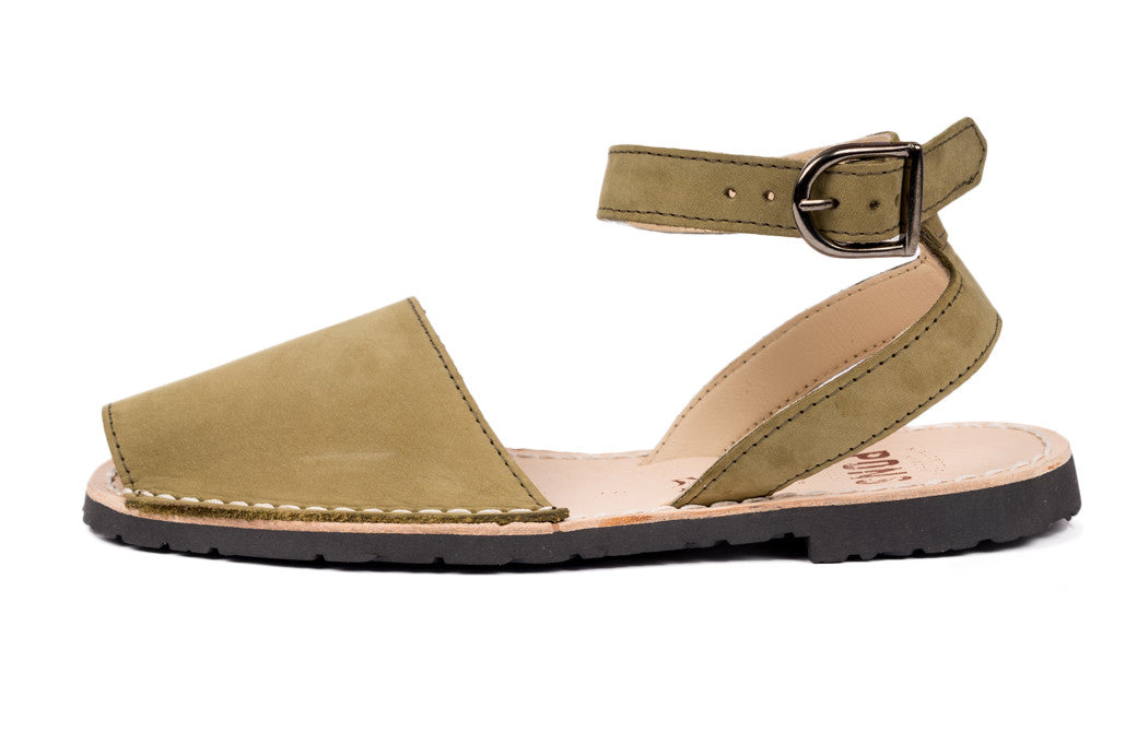 Pons Avarcas - Classic Style Strap Sandal - The Giant Peach - 2