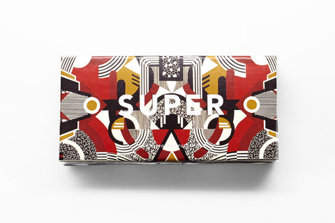 SUPER by Retrosuperfuture - Flat Top Motiv Sunglasses