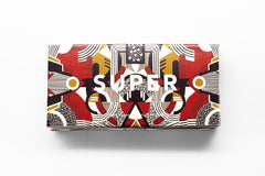 SUPER by Retrosuperfuture - Flat Top Motiv Sunglasses - The Giant Peach
