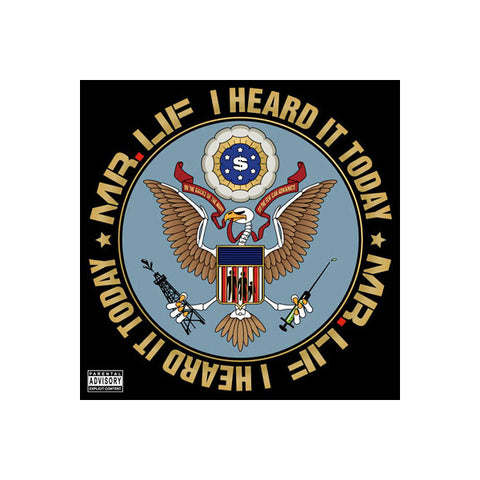 Mr. Lif - I Heard It Today, CD