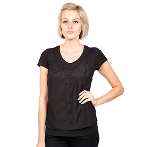 Gentle Fawn - Rise Women's Top, Black - The Giant Peach