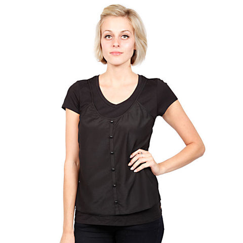 Gentle Fawn - Rise Women's Top, Black