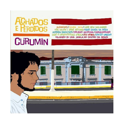 Curumin - Achados E Perdidos, CD - The Giant Peach