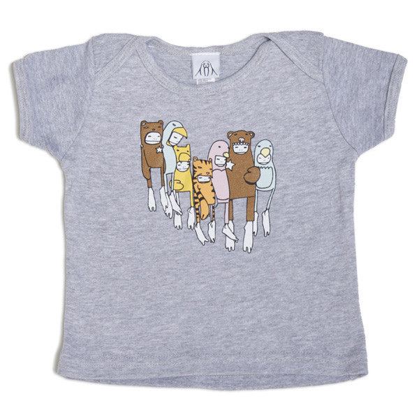 Twelve Grain (Sam Flores) - Costumes Kids Infant Tee, Grey - The Giant Peach